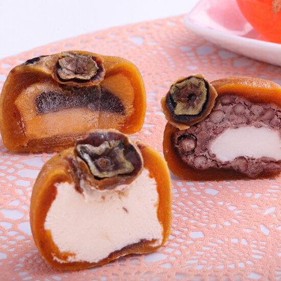 冰藏風味柿果燒6入禮盒