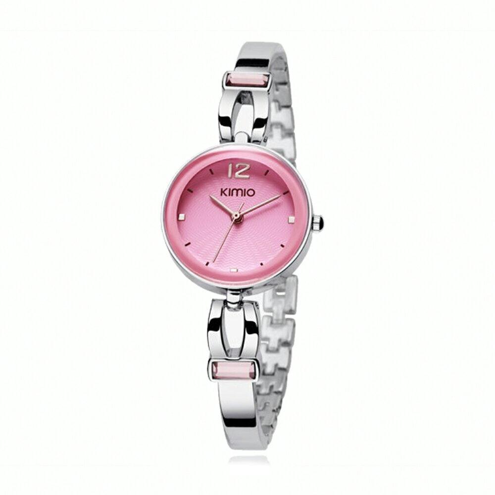 KIMIO 金米歐 K-466 簡約時尚氣質百搭圓款手鍊女錶 3