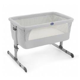 義大利【Chicco】Next 2 Me多功能移動舒適嬰兒床(雪銀白) 1