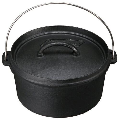 【露營趣】中和 美國 Coleman SF 荷蘭鍋/10吋 鐵鑄鍋 鑄鐵鍋 烤雞腿 壽喜燒 CM-9392