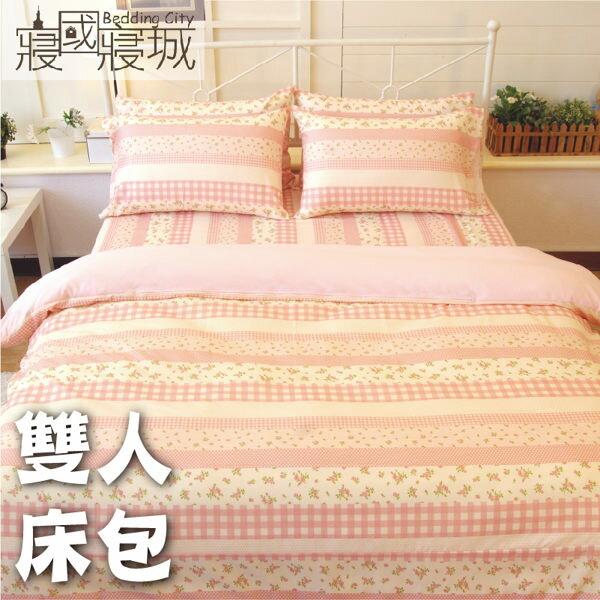 雙人床包(含枕套)-多款花色可挑選【超細纖維、飽滿色彩、觸感升級、SGS檢驗通過】 # 寢國寢城 1