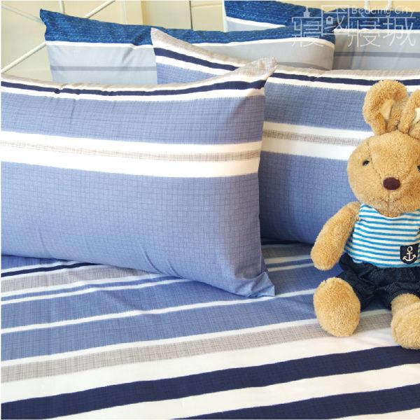 雙人床包(含枕套) EDINBURGH 愛丁堡的序曲【簡約線條、觸感升級、SGS檢驗通過】 # 寢國寢城 4