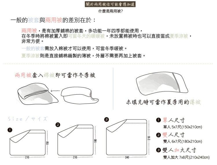 加大雙人兩用被-機器人-【精梳純棉、觸感升級】大鐘印染、台灣製造 # 寢國寢城 6