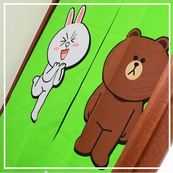 line門簾【可愛、容易拆洗】#我愛熊大 0