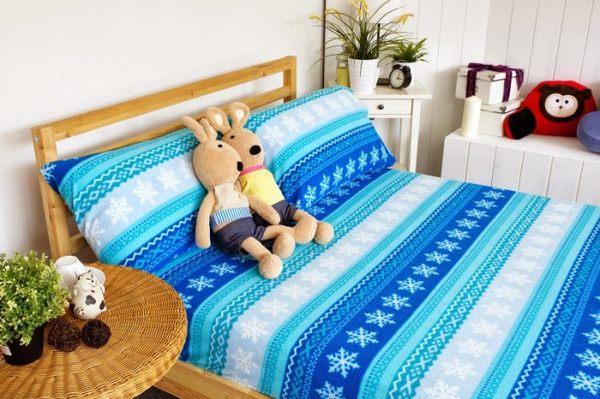 印花搖粒枕頭套【極細超柔、可愛搖粒絨毛巾布】(單品) # 冰雪x奇緣 0
