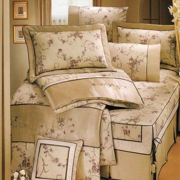雙人床罩5件組精品【時尚設計】純棉 0