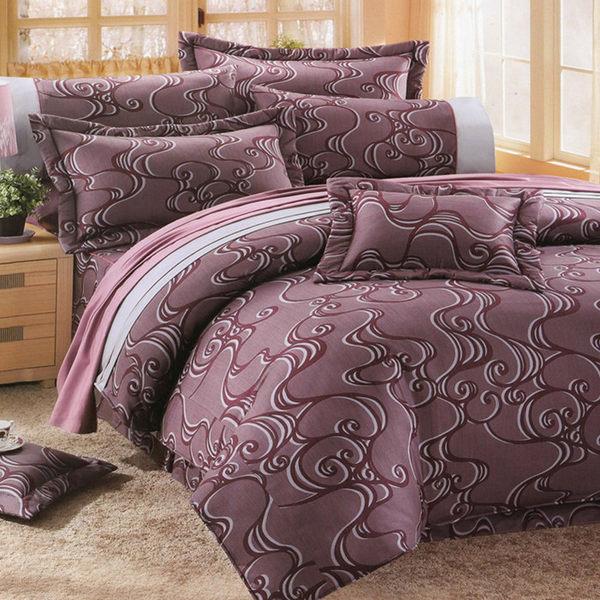 雙人床罩5件組精品【時尚設計】純棉 1