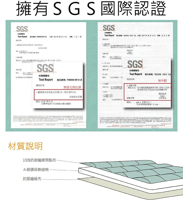 保潔墊單人平鋪式 3層抗污型、可機洗、細緻棉柔 3.5x6.2尺超值特價保潔墊 單品 第二代優質回歸 7
