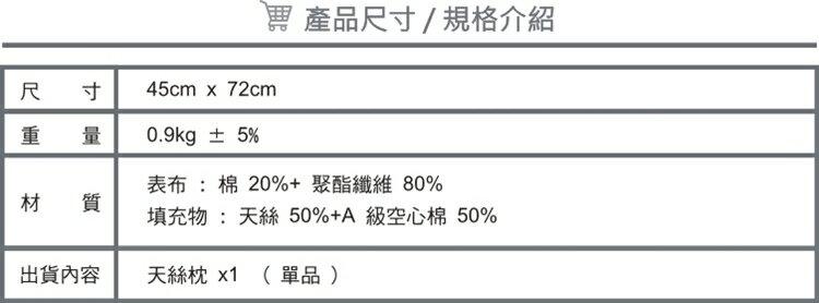 枕頭/天絲健康枕【防?抗菌、吸濕、台灣製】(單品) # 寢國寢城 8