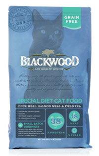 ★優逗★WDJ推薦 Blackwood 柏萊富天然寵糧 特調無穀全齡貓配方(鴨肉+鮭魚+豌豆) 4LB/4磅