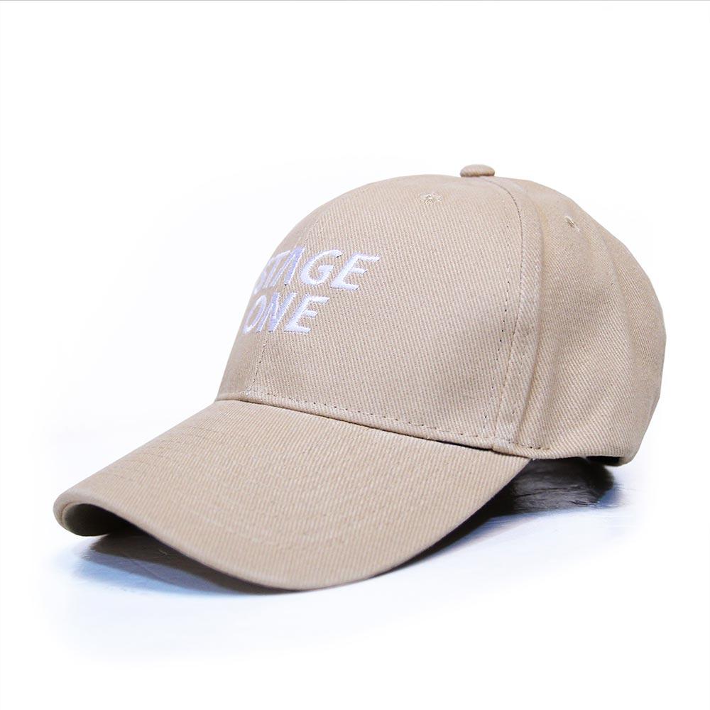 STAGEONE LOGO BASEBALL CAP 黑色 / 丈青色 / 卡其色 三色 3