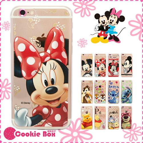 *餅乾盒子* 正版 迪士尼 手機 軟殼 iphone 6 6s plus 透明 保護殼 TPU 米奇 維尼 史迪奇 奇奇蒂蒂