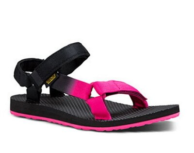 [陽光樂活] TEVA (女)  復古 織帶 運動 涼鞋 TV1008630PINK  黑粉漸層