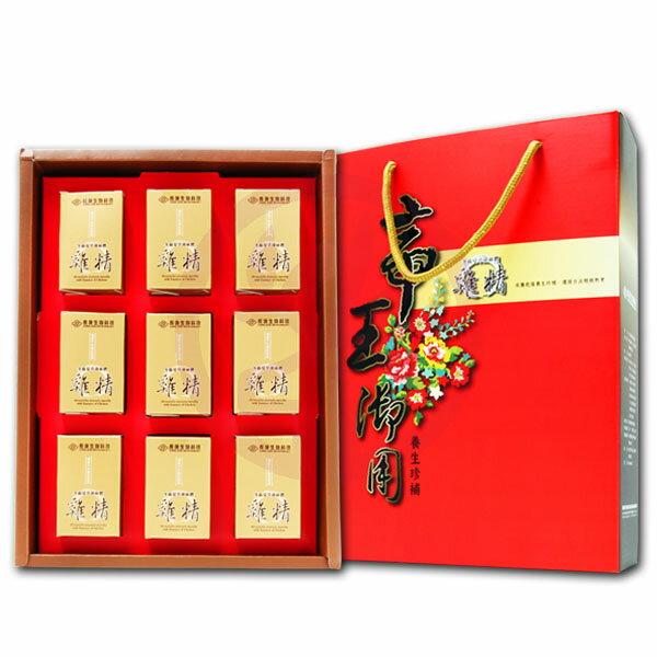 長庚生技 冬蟲夏草菌絲體雞精禮盒(40ml/瓶x9瓶入)x1