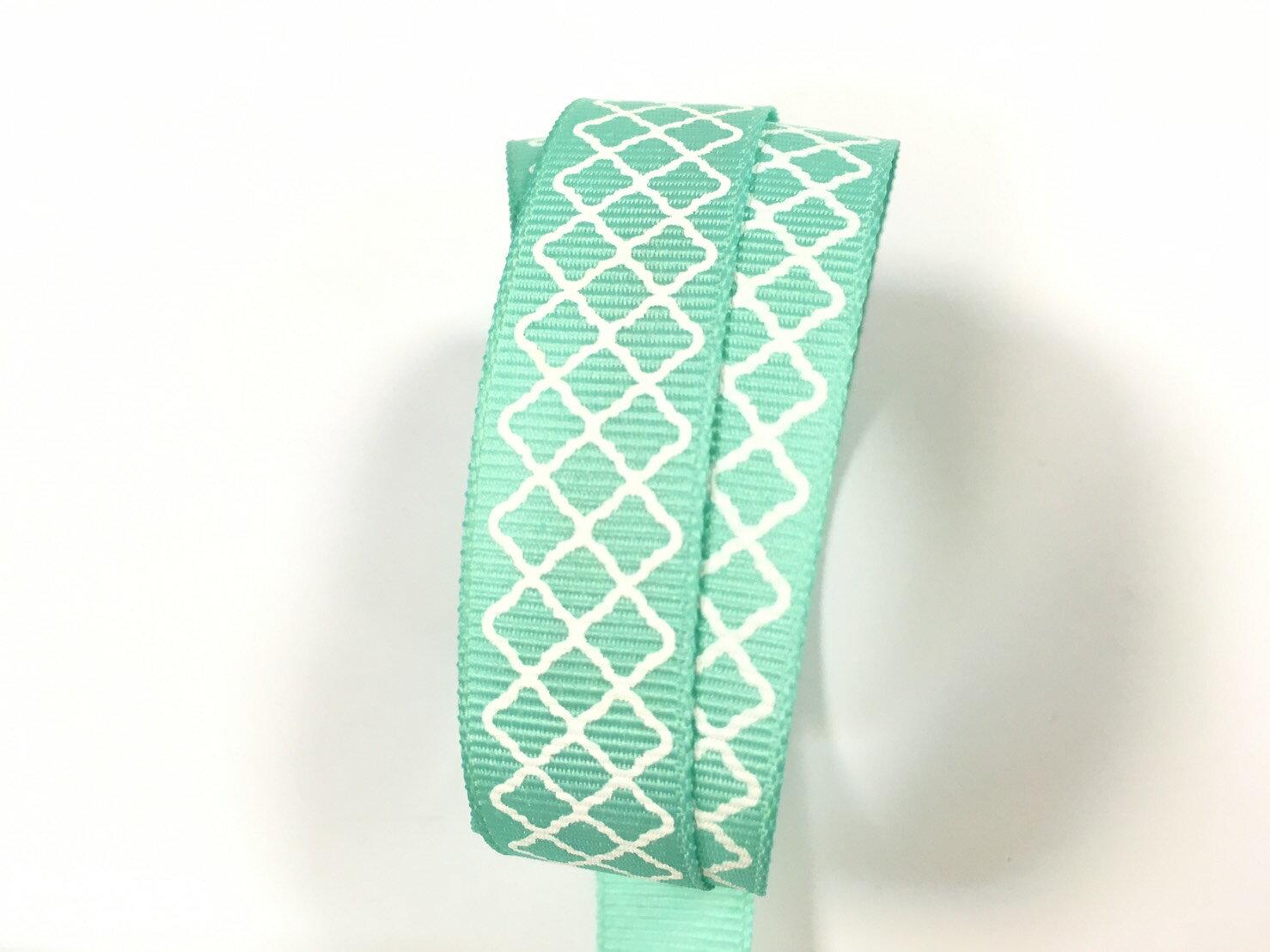 羅紋緞帶-網格 15mm 3碼裝 (5色) 4