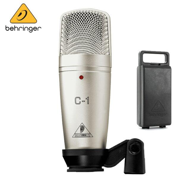 【非凡樂器】Behringer C-1 耳朵牌電容式麥克風【錄音室最佳首選/QR碼公司貨保固一年】