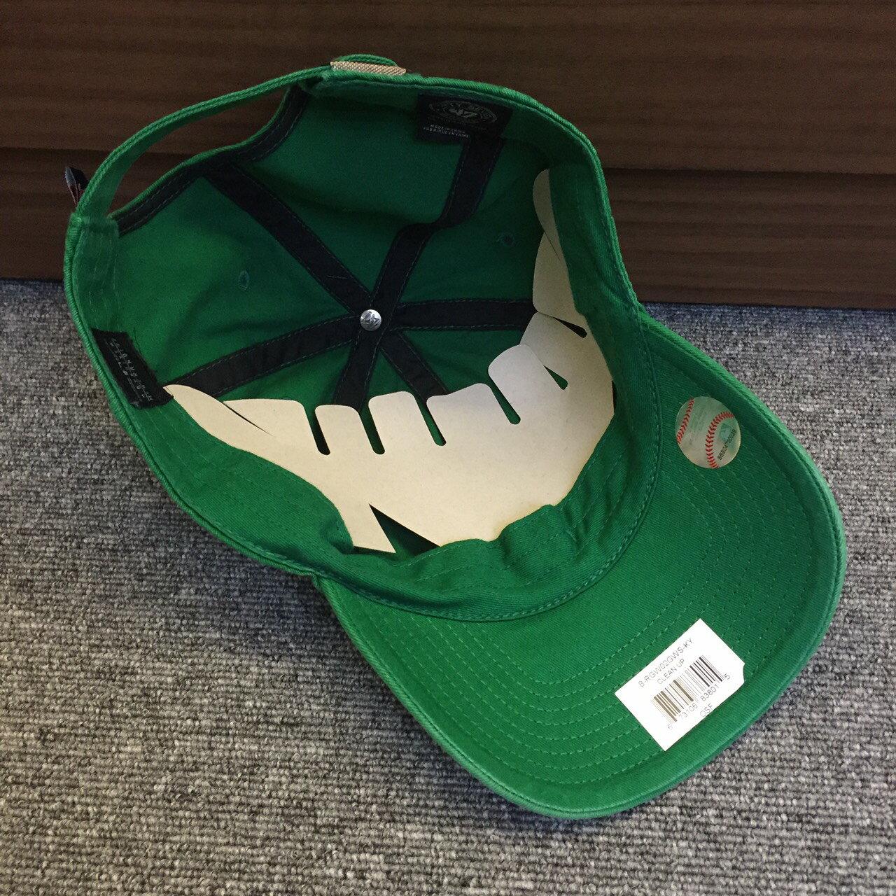 BEETLE 47 BRAND 老帽 波士頓紅襪 BOSTON RED SOX DAD 大聯盟 MLB 全綠 紅字 MN-410 2