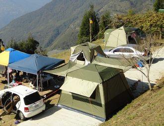 ~露營趣~中和可刷國旅卡或送贈品 威力屋 320 超防水3000mm 銀膠保暖抗寒 威力天