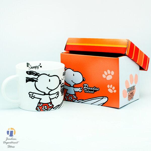 {九聯百貨} 史努比 Snoopy 衝浪湯杯 420cc (sp-a012e)