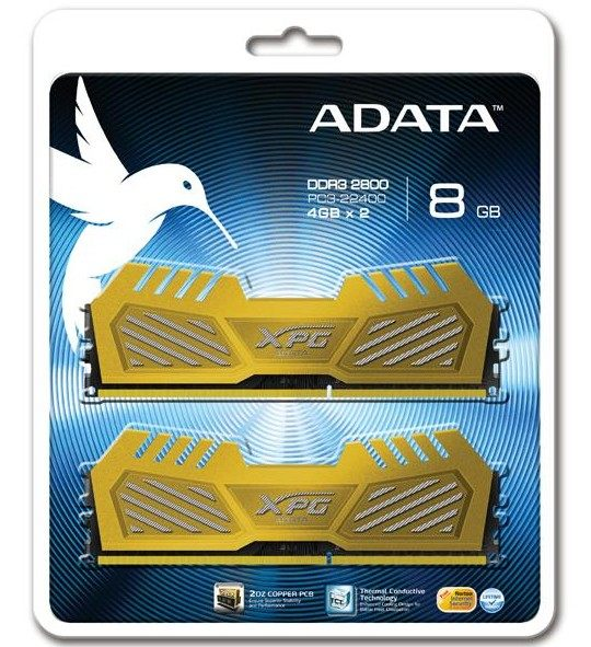 【DB購物】威剛 A-DATA XPG DDRIII 2800 8G(4G*2)超頻雙通道RAM 桌上型記憶體 (請詢問貨源)
