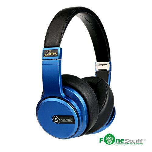 FONESTUFF x 蕭敬騰聯手打造「以愛之名」Hi-Fi劇院耳罩式耳機-搖滾藍
