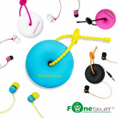 [福利品] Fonestuff 收線式耳塞耳機 FS6002