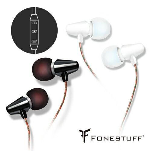[耳機線控] FONESTUFF Fits12陶瓷運動休閒風格耳機
