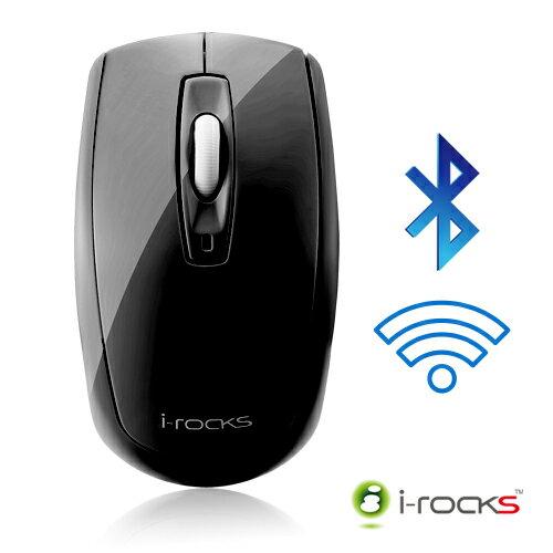 i-rocks 無線藍牙藍光光學滑鼠-黑 IRM02B