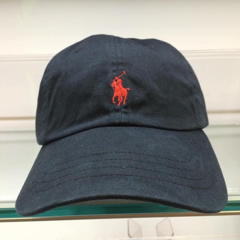 BEETLE POLO RALPH BASEBALL CAP 全黑 黑紅 馬球 LOGO 可調式 老帽 棒球帽 MN-384 0
