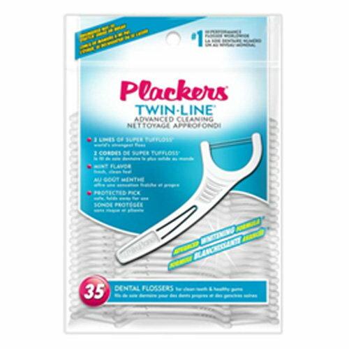 永大醫療~美國 Plackers 普雷克 雙線 牙線棒 35支便利包 每包特惠55元