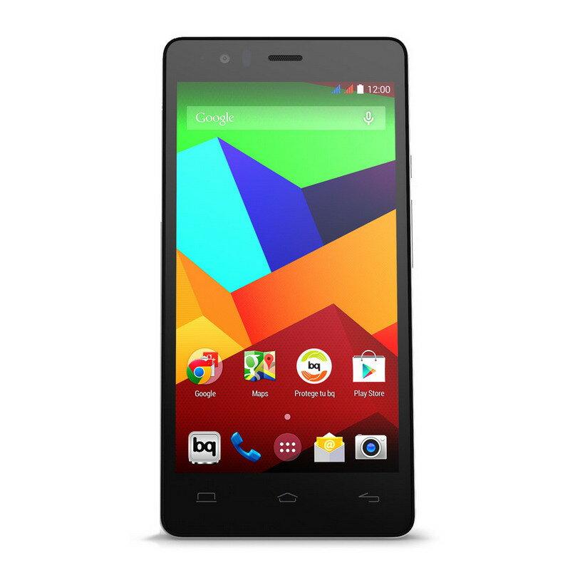 BQ AQUARIS E5 4G LTE 8GB NEGRO - SMARTPHONE LIBRE 0