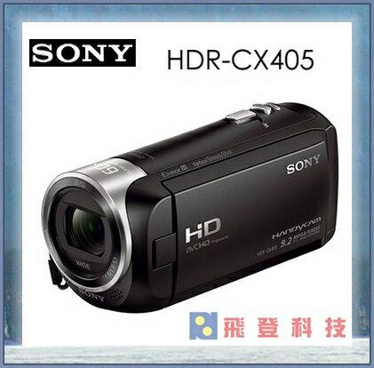 【精彩美一刻】加送64G高速卡+專用座充+台電 SONY HDR-CX405 CX405 FULL HD攝影機 含稅公司貨 保固兩年