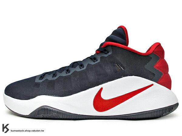 2016 ZOOM AIR 氣墊搭載 強勢回歸 NIKE HYPERDUNK 2016 LOW EP USA 深藍白紅 美國隊 FLYWIRE 鞋面科技 XDR 耐磨橡膠外底 輕量化 籃球鞋 HD 2K16 (844364-446) 0816