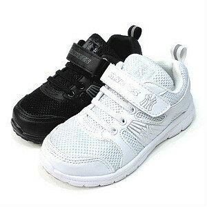 【錢豪童裝童鞋】洋基全白/全黑學生運動鞋