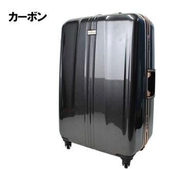 日本 LEGEND WALKER 6700-60-25吋 鋁框輕量剎車箱 碳纖黑