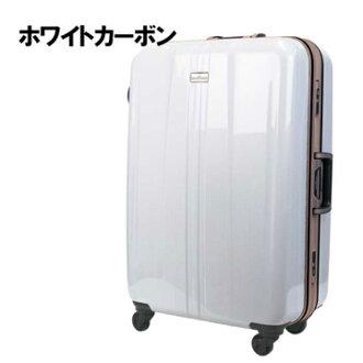 日本 LEGEND WALKER 6700-60-25吋 鋁框輕量剎車箱 碳纖白