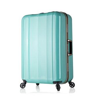 日本 LEGEND WALKER 6702-70-29吋 鋁框超輕量行李箱 薄荷綠