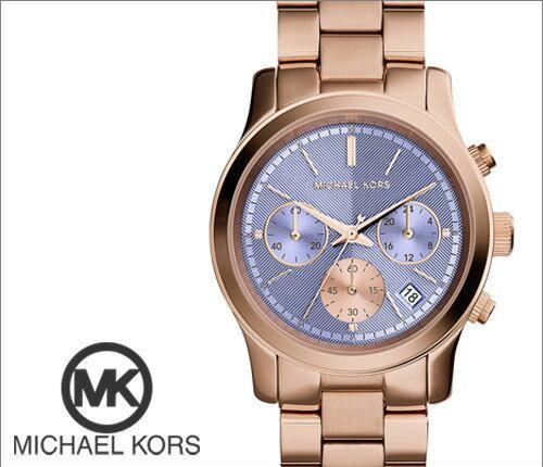美國Outlet 正品代購 Michael Kors MK 三環 螢光紫精鋼 滿鑽 手錶 腕錶 MK6163