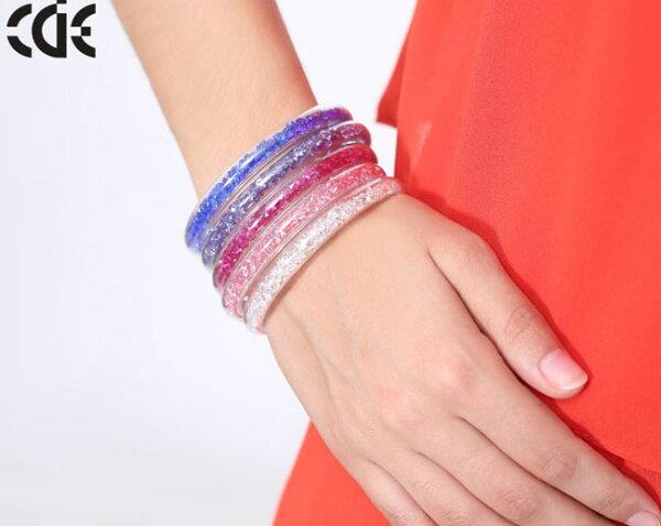施華洛世奇合作品牌 - CDE愛久久手鐲-299顆SWAROVSKI水晶元素 / 品牌直營廠網路價 / 五種顏色