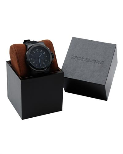 【MICHAEL KORS】正品 (男錶) Dylan系列競速方程式計時腕錶-黑 3