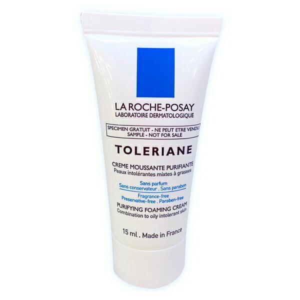 旅行瓶/理膚寶水多容安溫和泡沫洗面乳15ml/旅行瓶 公司樣品中文標 PG美妝