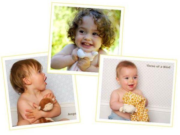 『121婦嬰用品館』美國Angel Dear 動物嬰兒安撫巾 長頸鹿(粉)AD1138(此商品售出不做退換) 2