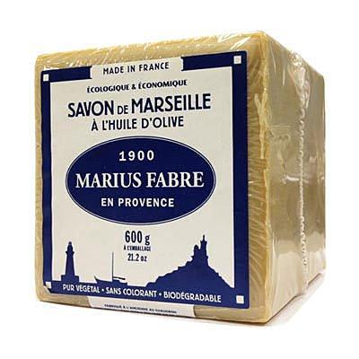 買一送一 法鉑經典馬賽皂600g 免運無贈品組 {橄欖皂}{棕櫚皂}手工皂-2入組