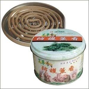 艾草之家 艾草養生防護薰香(天然) 艾草蚊香 鐵盒
