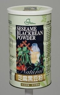 元豪 芝麻黑豆粉 600g/罐 (本產品特別添加三益菌、綜合酵素、高溶解鈣)(買11送1 可混搭)