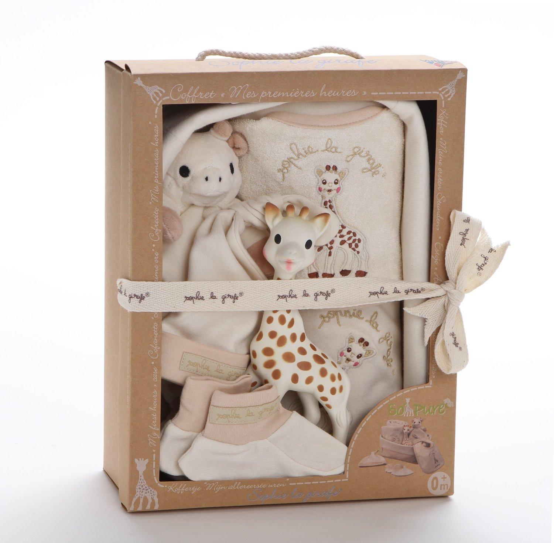最新包裝 法國Vulli 蘇菲有機棉新生兒四件禮盒【巴黎好購】 0