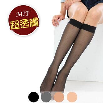 【美麗工場】透膚中筒絲襪6入
