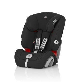 Britax - EVOLVA 1-2-3plus旗艦成長型汽車安全座椅(汽座) -黑