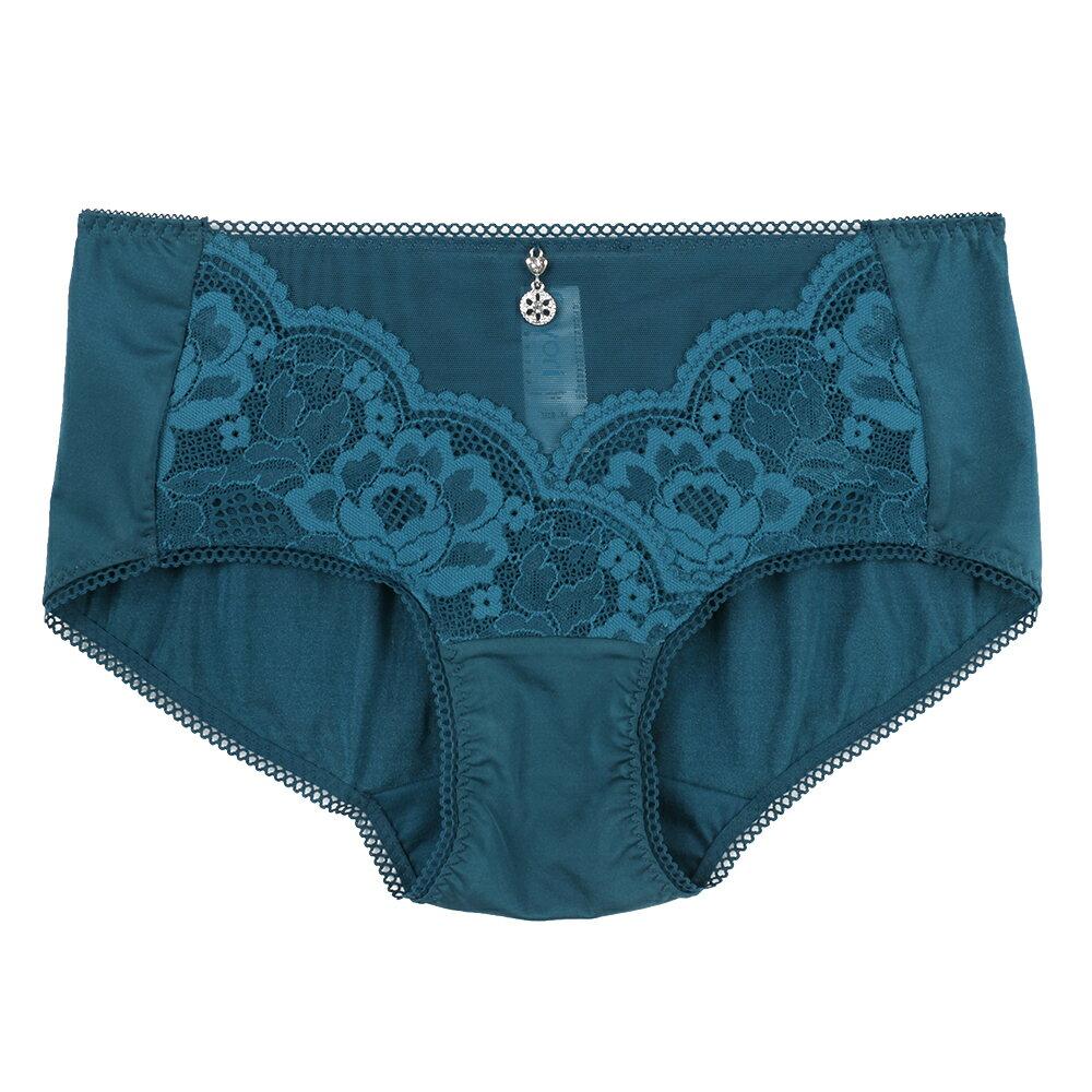 【Favori】魔力 玫情芬芳平口褲 (丹寧藍) 0