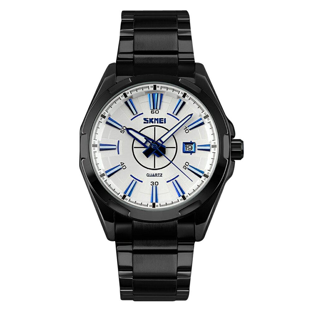 SKMEI 時刻美 9118 鋼帶時尚石英錶 1